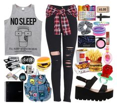 """90's Inspired"" by frozendecembermoon ❤ liked on Polyvore featuring art"