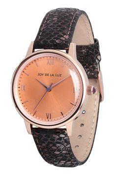 Joy de la Luz watch | Alice roségoldplated
