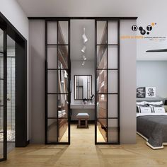 Doors and doors – wardrobe.decordiy …– Doors and doors – wardrobe. Home, Home Bedroom, Bedroom Closet Design, Wardrobe Design Bedroom, Bedroom Interior, Luxurious Bedrooms, House Rooms, House Interior, Dressing Room Design