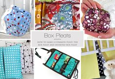 How to Make a Box Pleat: Standard and Inverted | Sew4Home