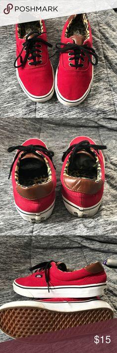 vans in great condition! 8 womens, 6.5 mens Vans Shoes Sneakers