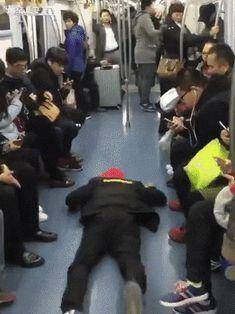 No seat - not a problem