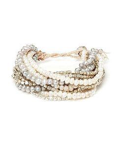 Multi-Strand Pearl Bracelet