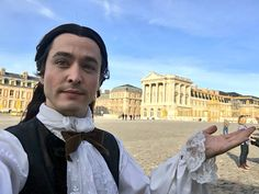 The brilliant Alexander Vlahos on the set of season 3 of the hit canal+ series Versailles