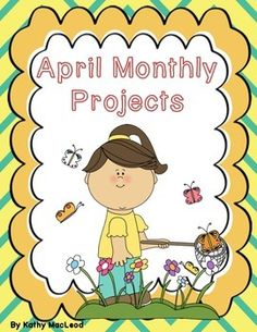 Students can choose from these creative project options which are based on several April holidays and themes!  (National Humor Month, April Fool's Day, National Poetry Month, National Library Week, Easter, Earth Day and Babe Ruth Day.) These projects are appropriate to use as independent study, extra credit opportunities, in-class extension activities, group projects and more!