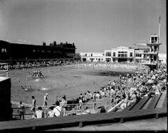 A perfect day at Portobello Bathing Pool 1960s
