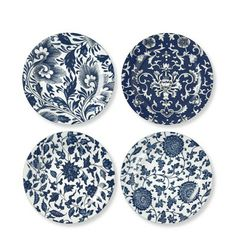 Jardin Chinois Salad Plates, Set of 4 #williamssonoma