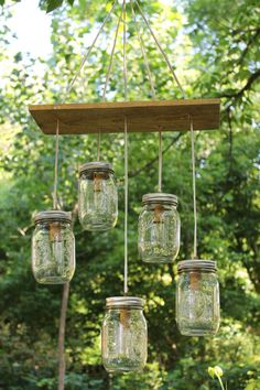 This Etsy seller does amazing things with mason jars & lighting