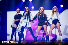 Little Mix performing at NRJ Star Night in Switzerland ~ November 2016 Little Mix Outfits, Little Mix Style, Cute Outfits, Little Mix Glory Days, Litte Mix, Zara Larsson, Stage Outfits, Concert Outfits, Mixed Girls
