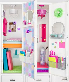 Students usually have a lot of items to fit into a fairly small locker, so maximizing this small space can be a challenge. Follow these tips for fun and functional locker organization solutions that will help students keep their lockers organized the whole year through.