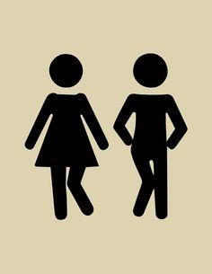 Wee Wee Dance - The Couple Bathroom Decor