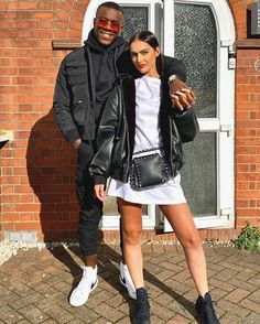 LOVE Island's Luke T has taken girlfriend Siannise Fudge back to Luton and is now heading to Bristol as the pair plan where to move in together. Love Island Outfits, Love Island Couples, Black Guy White Girl, White Girls, Interacial Love, Dope Couples, Moving In Together, Couple Goals Relationships, Interracial Couples