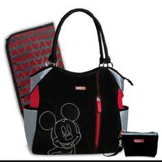 Mickey mouse diaper bag Mickey mouse diaper bag Disney Bags Baby Bags