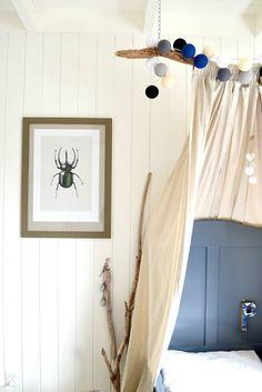 FRIVOLE #diy #tent #boysroom #ikeahack #kidsroom #hagedornhagen #wood #white #grey #naturel #handmade Rosa Rugosa