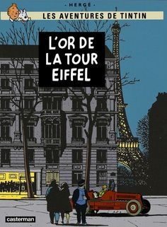 Vintage Labels, Vintage Posters, Book Cover Art, Book Art, Album Tintin, Atlas Book, Ligne Claire, Tour Eiffel, Vintage Movies