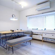 ma717koさんの、DIY,照明,ウニコ,Sign,建築デザイン事務所,無印良品,リノベーション,収納,イッタラ,部屋全体,のお部屋写真