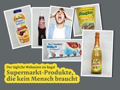 Diese Produkte braucht kein Mensch.