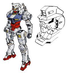 ArtStation - Classic Gundam Redesigns, Maung Thuta