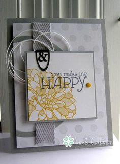 You Make Me Happy! by abbysmom2198 - Cards and Paper Crafts at Splitcoaststampers