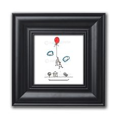 Don't know what to get your partner on anniversary? Check out this cute and sentimental art illustration print, it's simple, it's unique and it's fun! Click the link to purchase. #love #relationship #partners #giftidea #artprints #unique #illustration #valentinesday #anniversary #happy #mood #inlove Balloon Cartoon, Cartoon Wall, Cartoon Pics, Funny Self Love Quotes, Dentist Humor, Gifts For Dentist, Bubble Wrap Envelopes, Printed Balloons, Wall Art For Sale