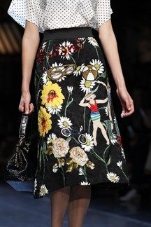 Dolce & Gabbana SS16 Close Up