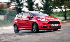 Ford Fiesta ST in action. Click for full gallery. #ford #fiesta #st #fullatack