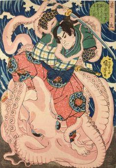 Cronache Bizantine : La piovra nella cultura giapponese (e non solo)
