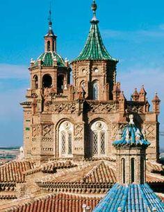 Teruel mudejar cathedral, Spain.