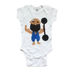 81d55e5b60 The Strongest Man - Infant Bodysuit - The Greatest Showman x mi cielo The  Greatest Showman