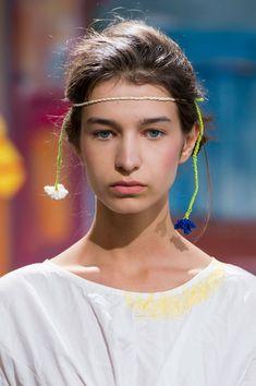 Daniela Gregis at Milan Fashion Week Spring 2017 - Details Runway Photos