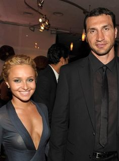 Love is Blind Celebrities (13 of 37): Hayden Panettiere and Wladimir Klitchsko