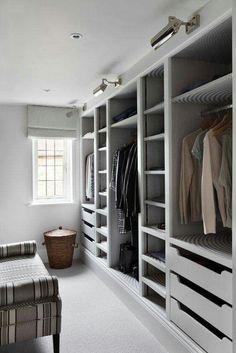 Walk In Wardrobe Design for Bedroom. Walk In Wardrobe Design for Bedroom. Closet Walk-in, Closet Storage, Bedroom Storage, Closet Ideas, Closet Organization, Organization Ideas, Wardrobe Storage, Closet Doors, Clothing Storage