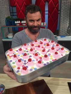 Sweet Recipes, Cake Recipes, Dessert Recipes, No Cook Desserts, Easy Desserts, Greek Sweets, Usa Tumblr, Xmas Food, Happy Foods