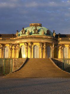 Castle Sanssouci, Potsdam, Germany