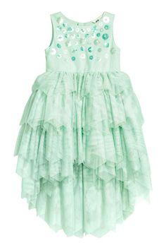 Tulen jurk - Mintgroen - KINDEREN | H&M NL