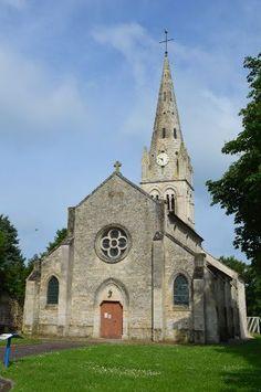 Eglise Saint-Martin te Néry (Oise 60)
