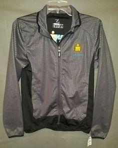 Zorrell-Ironman-Triathlon-Long-Sleeve-Polyester-Jacket-Mens-Size-Small-Miami