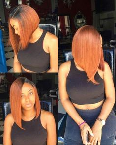 Ombre bob style full lace wig 150 density 14 inch length Handing Time workdays Shippment DHL or UPS usually take about workdays Choppy Bob Hairstyles, Dope Hairstyles, Black Girls Hairstyles, Weave Hairstyles, Straight Hairstyles, Hairstyle Ideas, Hair Ideas, Ombre Bob Hair, Short Hair Styles