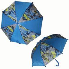 Character Batman de nailon paraguas para niños - http://comprarparaguas.com/baratos/dc/batman/character-batman-de-nailon-paraguas-para-ninos/