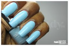 Nails Inc Spring Summer 2013 nail polish collection review and swatches - Chelsea Physic Garden