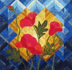 dcf4df5c30f4f5243b5dd6ab1d36ccf3--poppies-art-floral-quilts.jpg (736×722)