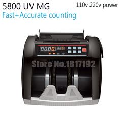 86.58$  Watch now - http://aliupw.worldwells.pw/go.php?t=32680348328 - Cash Counter,currency count machine,money-counting machine,cash-counting machine, bill counter,MONEY COUNTER 5800 UV MG,EU US 86.58$