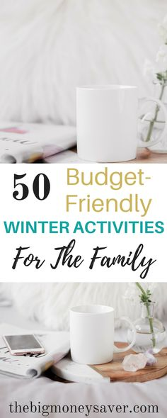 Stuck in the house and looking for something to do that doesn't involve spending a lot of money? Check out these 50 budget-friendly winter activities for the family. Frugal Family, Family Budget, Frugal Living, Activities To Do, Winter Activities, Winter Hacks, Winter Tips, Money Saving Mom, Decoration Christmas