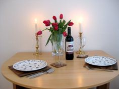Dining table One Bedroom Apartment, Rental Apartments, Table Settings, Dining Table, London, Table Decorations, Home Decor, Decoration Home, Room Decor