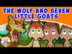 The Wolf And Seven Little Goats - Fairy Tales In English Goat Cartoon, Cartoon Kids, English Animated Movies, Kids English, Bedtime Stories, Bowser, Fairy Tales, Make It Yourself, Youtube