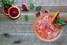 Take Your Minerals: A Calming Blood Orange Spritzer - The Chalkboard