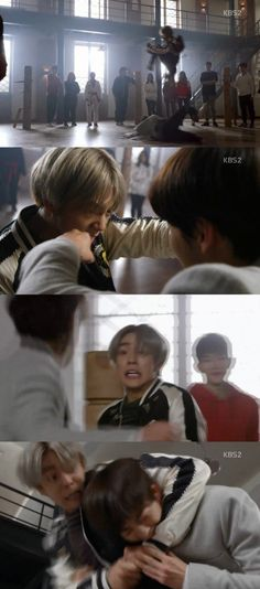 [Spoiler] 'Moorim School' Lee Hyun-woo vs Hong Bin in training match @ HanCinema :: The Korean Movie and Drama Database