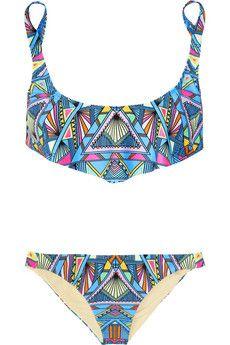 Mara Hoffman|Inca printed bikini