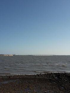 14 juillet - et au loin le pont de l'île de Ré