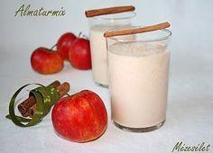 Almaturmix Smoothie Bowl, Smoothies, Glass Of Milk, Panna Cotta, Ale, Pudding, Drinks, Ethnic Recipes, Desserts